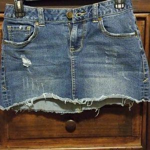 American Rag Jean Skirt